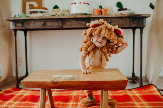 {Mesversário} O rei da selva – 11 meses do Pedro
