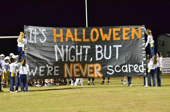 It's Halloween Night, but We're Never Scared