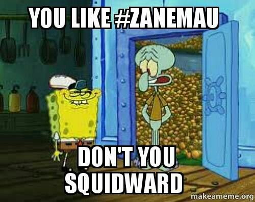 YOU BETTER NOT SQUIDWARD!!!! #AARMAU