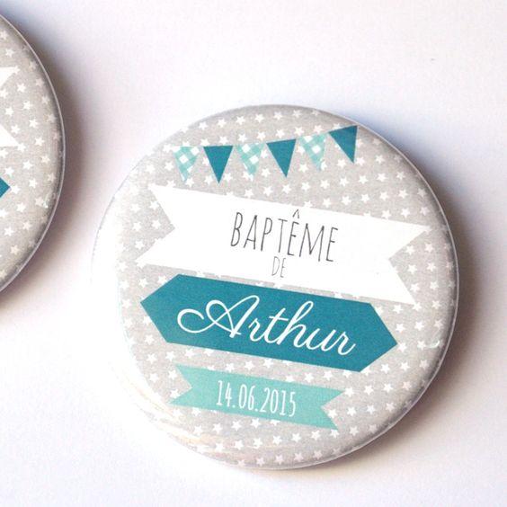 Bulles de neige badges personnalis s evjf mariage for Deco de table bleu et gris