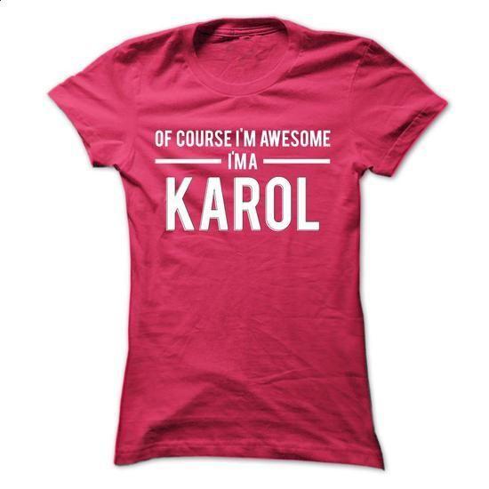 Team Karol - Limited Edition - #hoodie jacket #sweatshirt hoodie. CHECK PRICE => https://www.sunfrog.com/Names/Team-Karol--Limited-Edition-xmrnderxmv-Ladies.html?68278