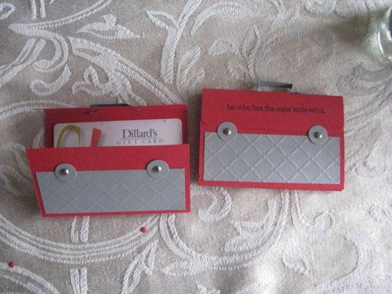 tool gift card holder