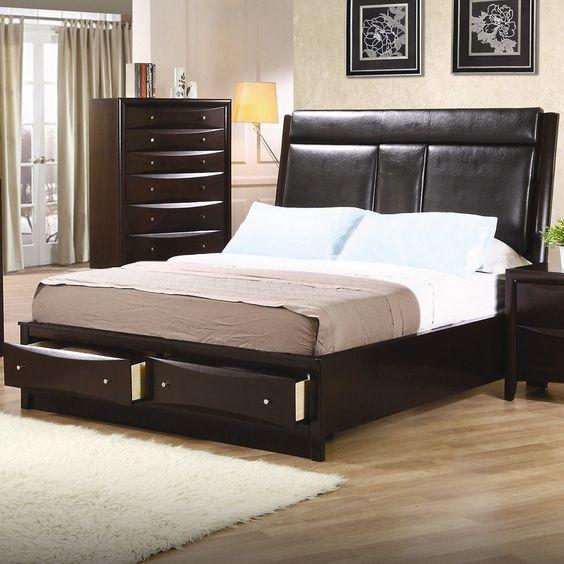 Crawford Upholstered Platform Bed