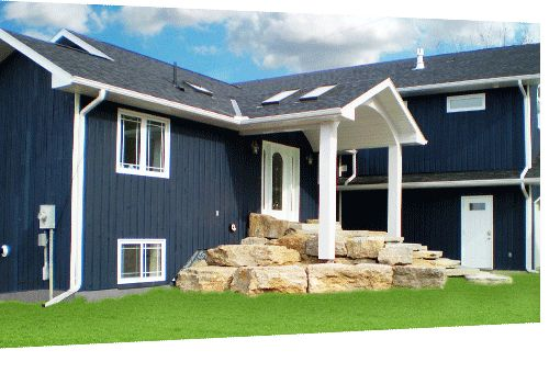Blue Vinyl Siding Vinyl Siding And House Colors On Pinterest