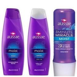 Kit Aussie Shampoo + Condicionador + 3 Minutos - Shopimportados