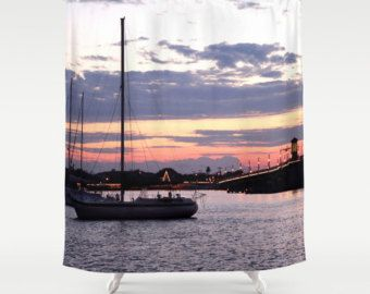 Shower curtains, Bathrooms decor and Boats on Pinterest