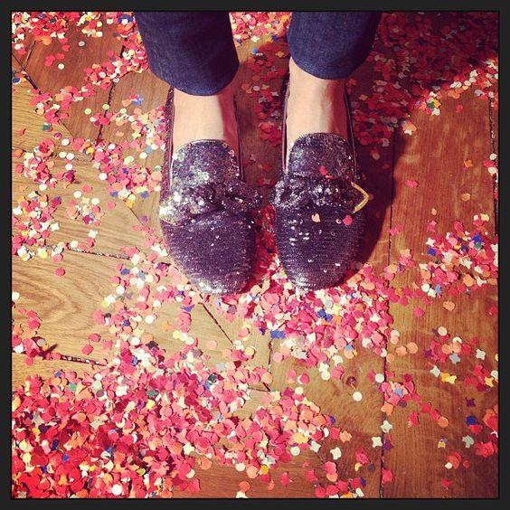 Louis Vuitton NYE slippers.. so cute