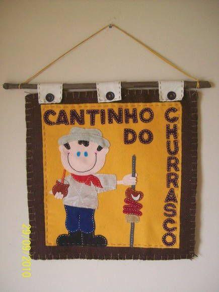 """Panô """"Cantinho do Churrasco"""""""