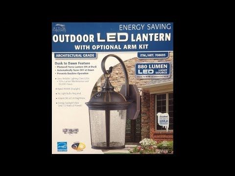 altair lighting led lantern from costco