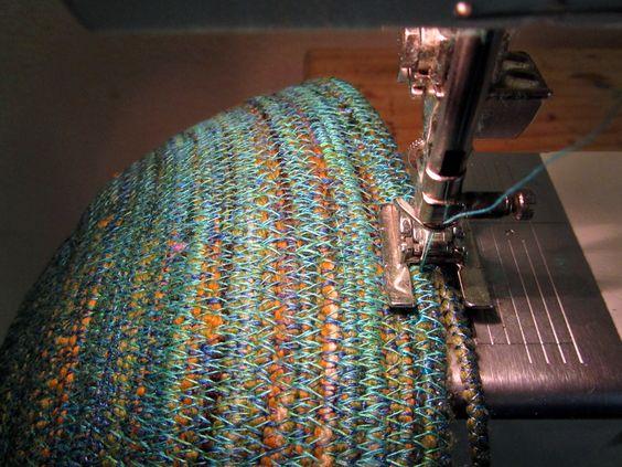 Art In Stitches: How to Make a Fiber Vessel