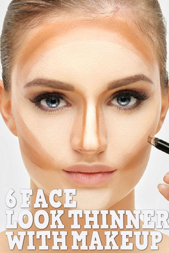 How To Make Your Face Look Thinner With Makeup Contour Makeup Face Contouring Makeup For Brown Eyes