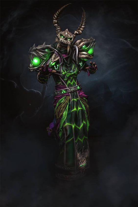 Cosplay - Monemon Bild/Edit eosAndy Inspiration - World of Warcraft - T2 WARLOCK…  https://www.facebook.com/monemon44/?fref=ts