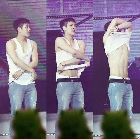 So hot oppa!!! #WangJackson