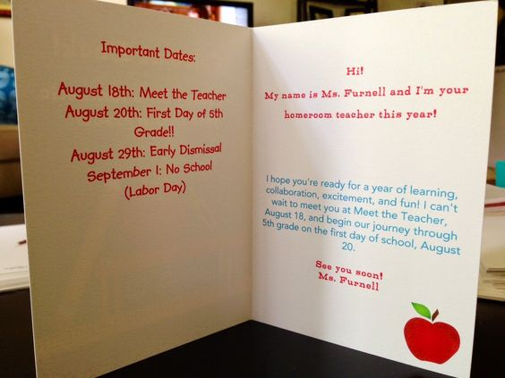"These ""welcome back to school"" cards will incite lots of excitement for the new school year."