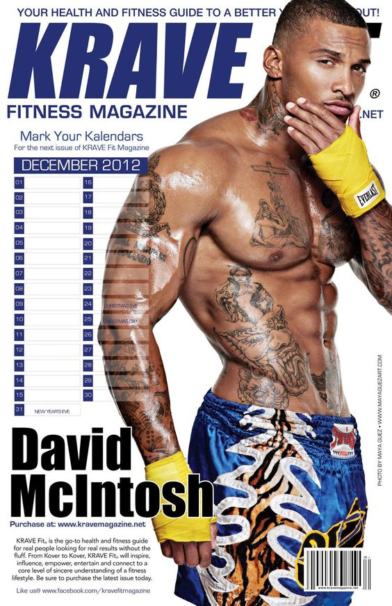david mcintosh | Smart model David Mcintosh covers Krave magazine, photographed…