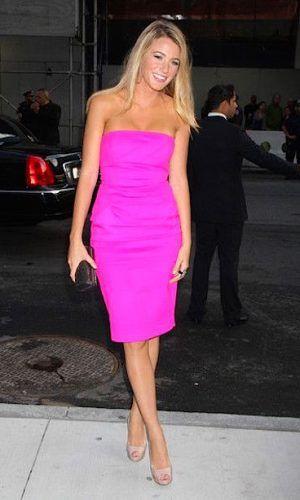 roupas neon vestido rosa