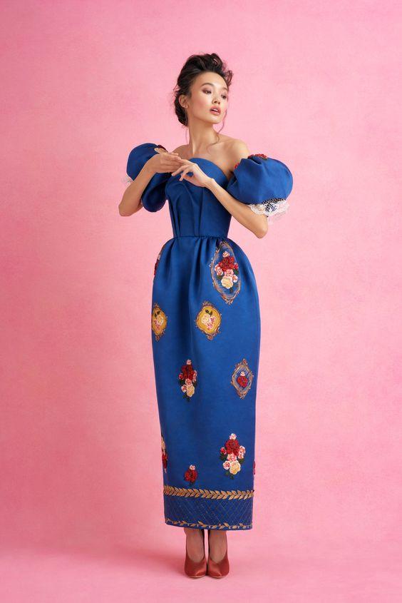 Ulyana Sergeenko couture spring/summer 2018 collection - HarpersBAZAARUK