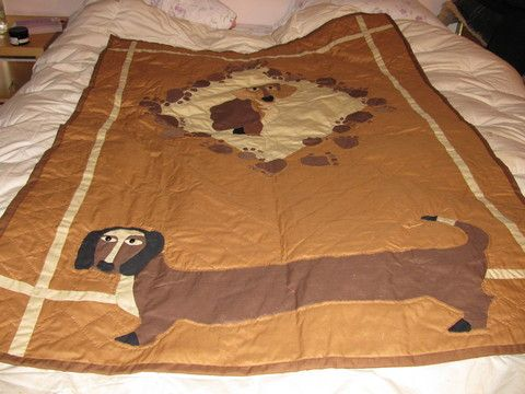 Doxie quilt: