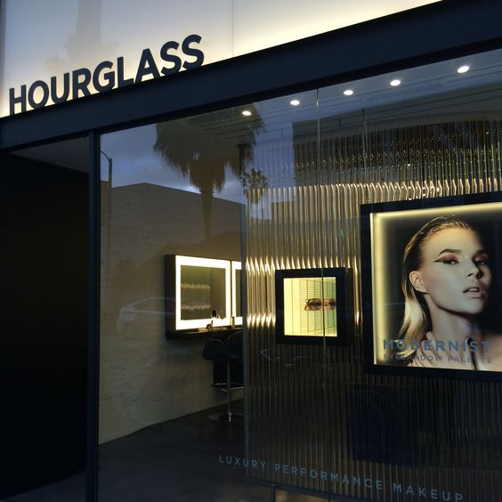 Hourglass flagship store at 1351 Abbot Kinney Blvd. in Venice, California