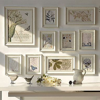 vintage galerie beige bergro en collage bilderrahmen 10er set eur ideen rund ums. Black Bedroom Furniture Sets. Home Design Ideas