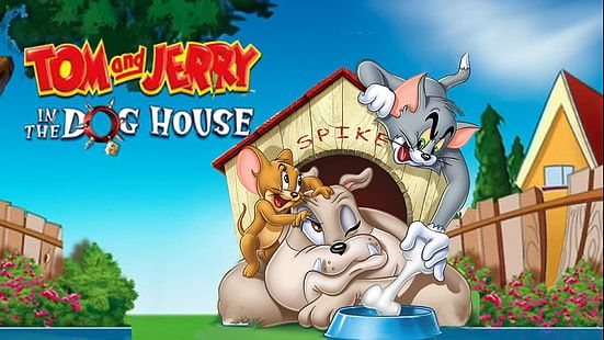 Tom And Jerry In The Dog House Spike Wallpaper For Desktop 1920 1080 1080p Wallpaper Hdwallpaper Desk Cartoon Wallpaper Hd Beautiful Wallpaper Hd Dog House Beautiful wallpaper house photo