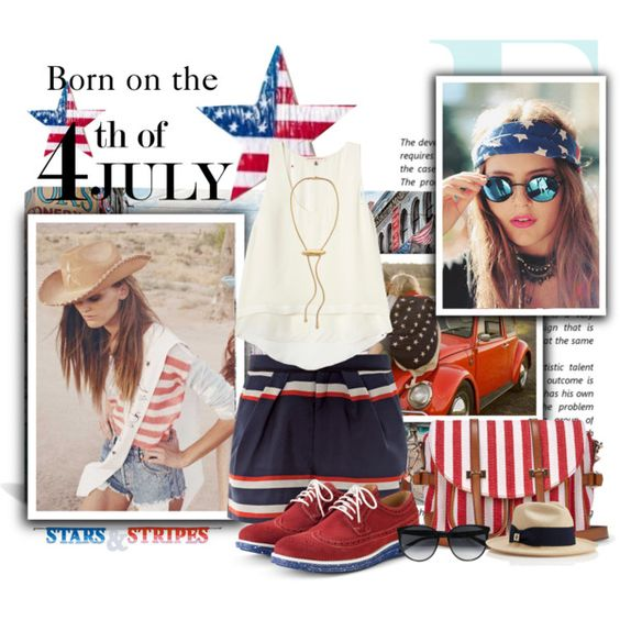 """Born on The 4th of July"" by maddycruise on Polyvore"