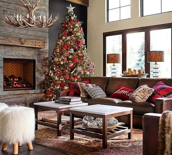 40 Christmas Spirit Decoration Ideas 2021 Page 21 Of 38 Newyearlights Com Christmas Living Rooms Christmas Decorations Living Room Living Room Images Living room christmas decorations 2021