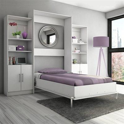 Stellar home furniture eva twin wall bed s207 1 home - Bunk beds that fold into wall ...