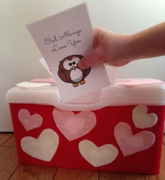 Sunny Day Family: Cupid's Mailbox Activity with Free Printable Valentine Cards