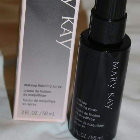Mary Kay Makeup Finishing Spray 2 fl. oz. Bottle of makeup finishing spray.  It keeps your makeup nice for longer. It's new still I'm the box and unused. Makeup