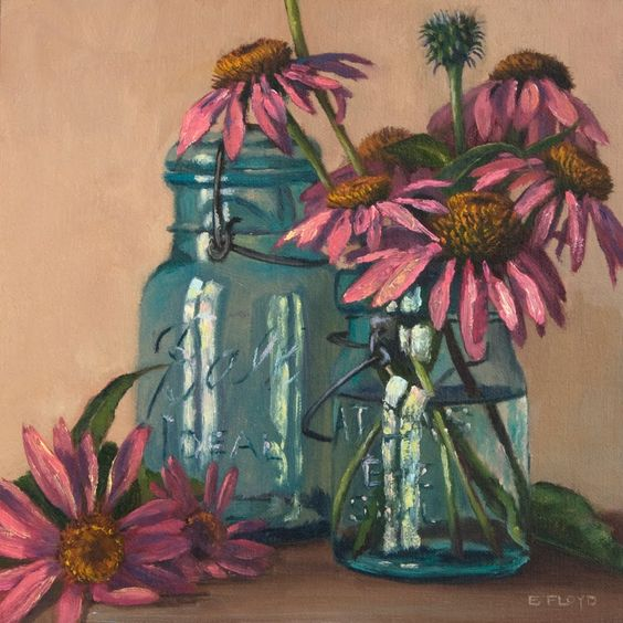 Amazing still life painting by Elizabeth Floyd. I love this painting!