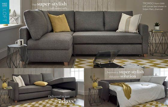 Top 10 Sofa Beds For Small Spaces Colourful Beautiful Things Sofas For Small Spaces Couches For Small Spaces Small Corner Sofa