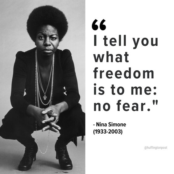 """HuffPost BlackVoices on Twitter: """"Rest in power to revolutionary jazz artist and activist Nina Simone who died on this day in 2003"""""""