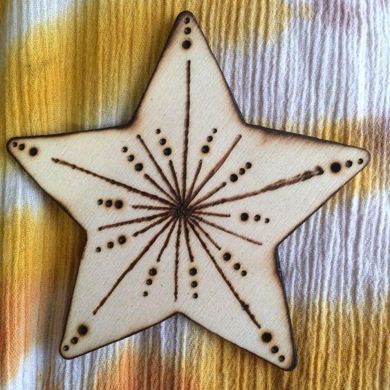 Wood burned ornament • Christmas • holidays • winter decor by MShelsJewels on Etsy https://www.etsy.com/listing/475611645/wood-burned-ornament-christmas-holidays
