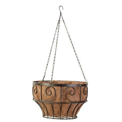 Scroll Hanging Basket