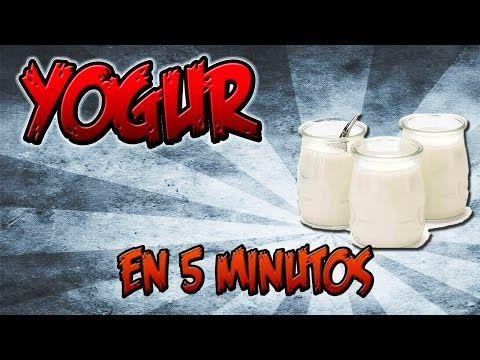 Yogur casero muy facil