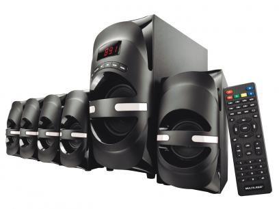 Home Theater Multilaser SP169 c/ Blu-ray - 70W RMS 5.1 Canais Conexão USB e Bluetooth com as melhores condições você encontra no Magazine Simply. Confira!