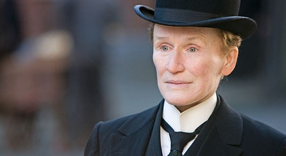 Glenn Close in Albert Nobbs