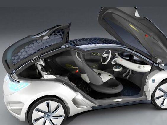 Renault Zoé electric car