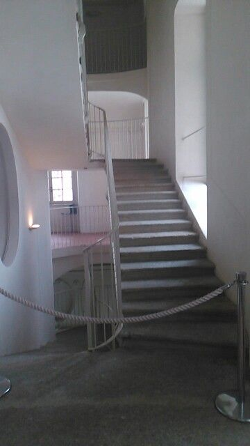 Scala costruita in occasione dell'ampliamento