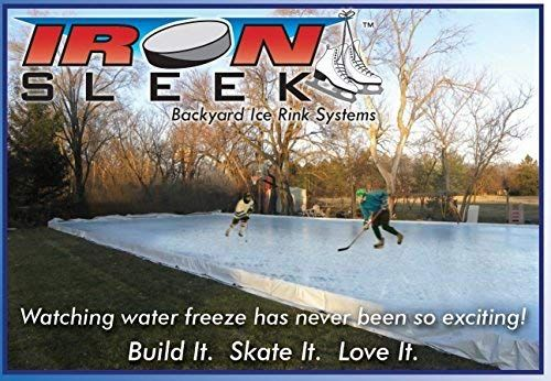 Amazon Com Skating Rink Kit Size 30 X 45 Snow Sledding And Tubing Equipment Sports Outdoors Backyard Ice Rink Skating Rink Ice Rink