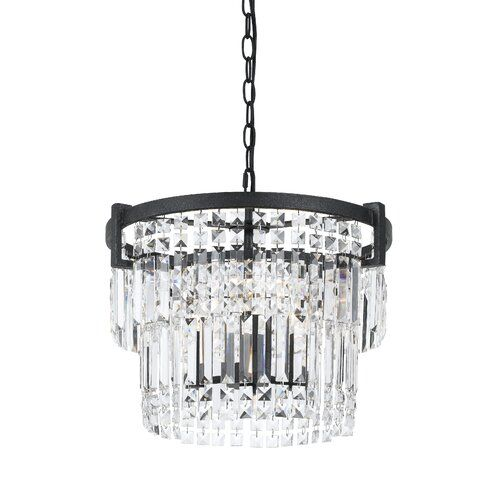 Glendo 7 Light Crystal Chandelier