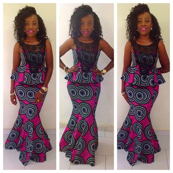 ... robe africaine robe d styles pagnes mode africaine africaine robe
