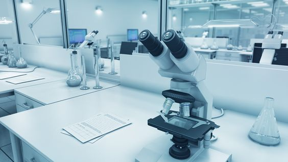 pharmaceutical laboratory equipment 3d model