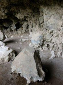 La Palma -Cueva de Belmaco en La Palma, utilizada como vivienda por benahoaritas.