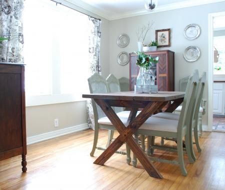 office desk: Dining Room, Dining Table, Diy Project, Patio Table, Kitchen Table, Picnic Table