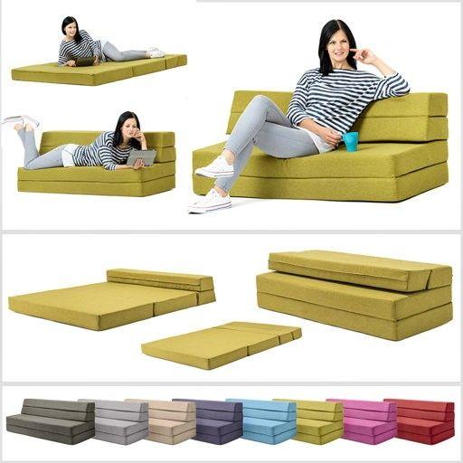 Folding Double Sofa Bed Mattress Sofa Folding Sofa Bed Foam Sofa Foam fold out sofa beds