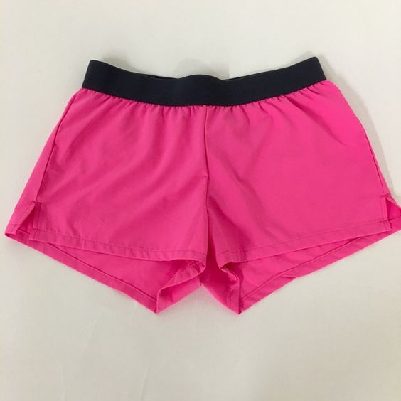 Soffee Athletic Shorts Low rise, hot pink exercise shorts. Comfortable fit. Never worn. Soffe Shorts