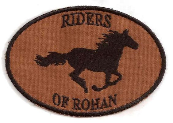Lord of the Rings, Riders of Rohan Patch. $8.00, via Etsy.