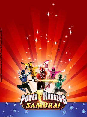 Montando Minha Festa Power Rangers Samurai En 2019